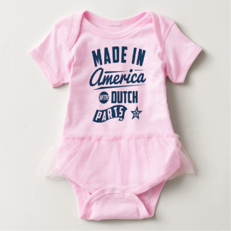 Made In America With Dutch Parts Baby Bodysuit