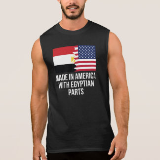Made In America With Egyptian Parts Sleeveless Shirt