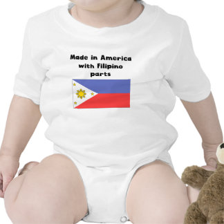 Made In America With Filipino Parts Bodysuit