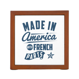 Made In America With French Parts Desk Organizer