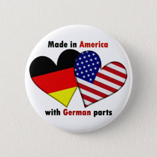 made in america with german parts 2 inch round button