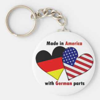 made in america with german parts keychain