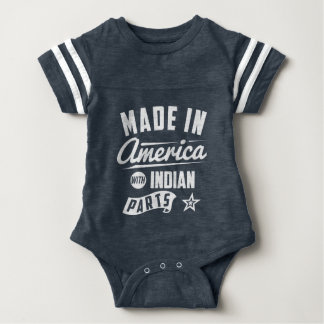 Made In America With Indian Parts Baby Bodysuit