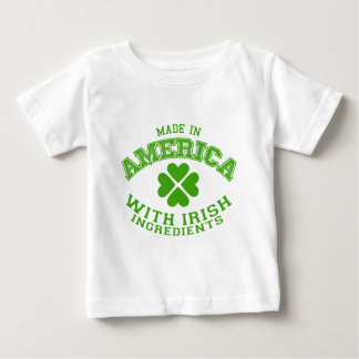 Made in America with Irish ingredients Baby T-Shirt