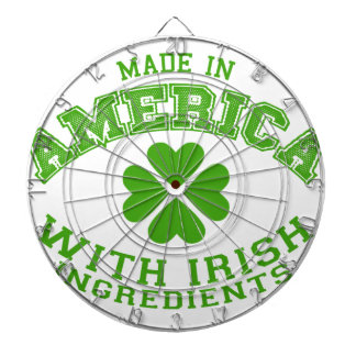 Made in America with Irish ingredients Dartboard
