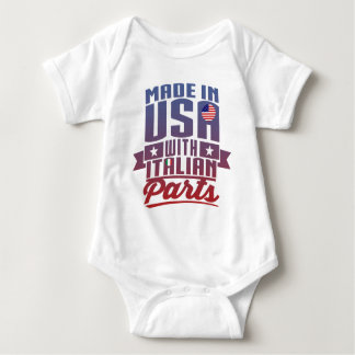 Made In America With Italian Parts Baby Bodysuit
