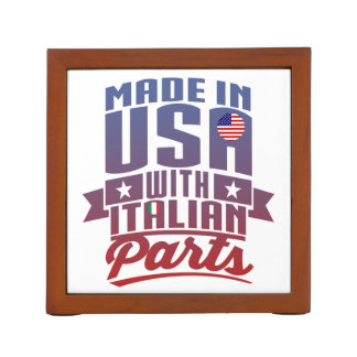 Made In America With Italian Parts Desk Organizer