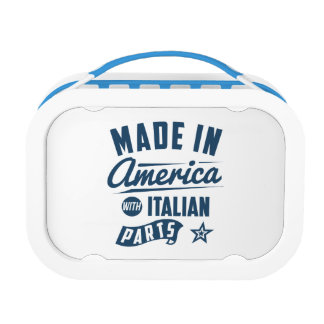 Made In America With Italian Parts Lunch Box