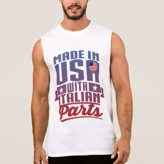 Made In America With Italian Parts Sleeveless Shirt