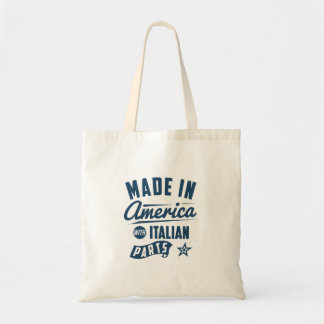 Made In America With Italian Parts Tote Bag