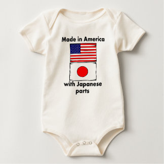 Made In America With Japanese Parts Baby Bodysuit