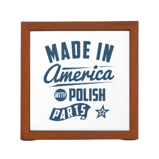 Made In America With Polish Parts Desk Organizer
