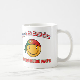 Made in America with Portuguese part's Coffee Mug