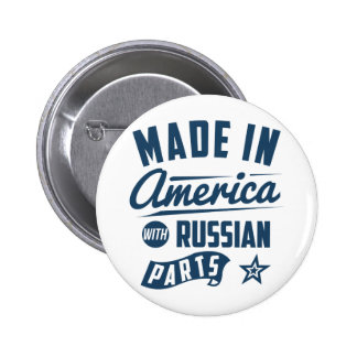 Made In America With Russian Parts 2 Inch Round Button