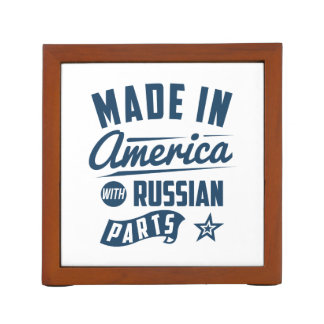 Made In America With Russian Parts Desk Organizer