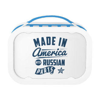 Made In America With Russian Parts Lunch Box