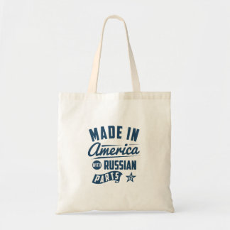 Made In America With Russian Parts Tote Bag