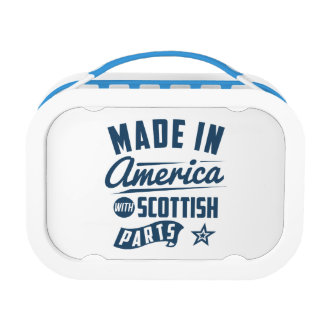Made In America With Scottish Parts Lunch Box