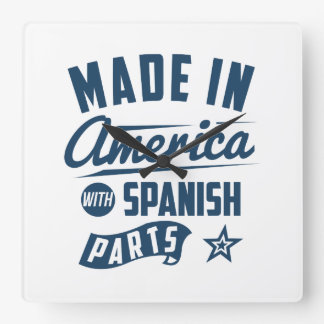 Made In America With Spanish Parts Clock