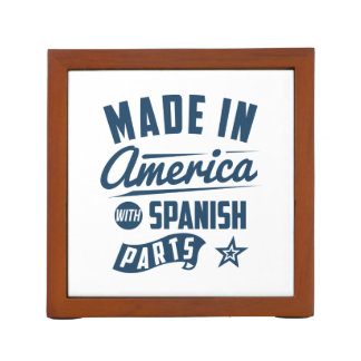 Made In America With Spanish Parts Desk Organizer
