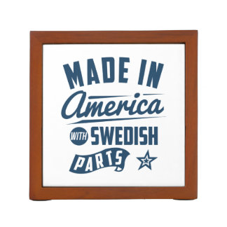 Made In America With Swedish Parts Desk Organizer