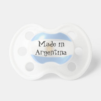 Made In Argentina Baby Pacifier