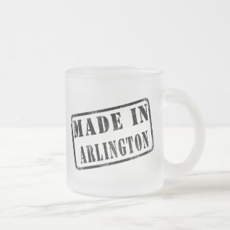 Made in Arlington Frosted Glass Mug