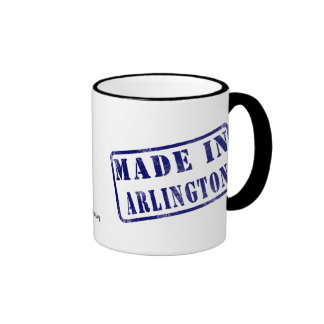 Made in Arlington Ringer Mug