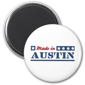 Made in Austin Refrigerator Magnet