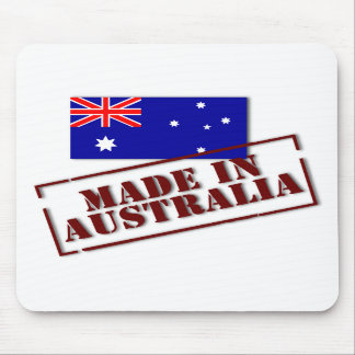 Made in Australia Mousepad (Portrait)