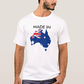Made in Australia Shirt Born and Raised Aussie
