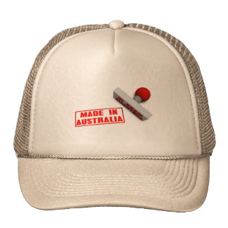 Made in Australia Stamp or Chop on Paper Concept i Trucker Hat