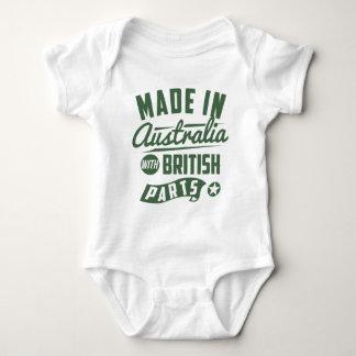 Made In Australia With British Parts Baby Bodysuit