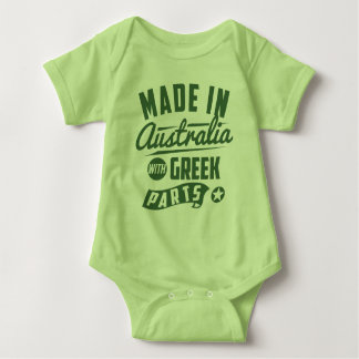 Made In Australia With Greek Parts Baby Bodysuit