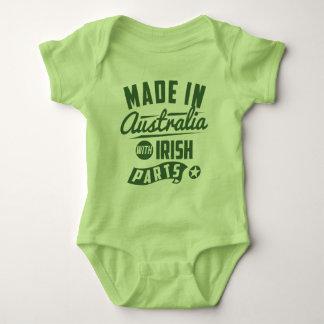 Made In Australia With Irish Parts Baby Bodysuit