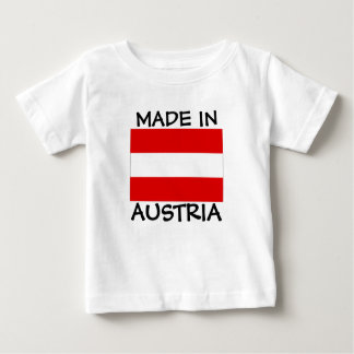 Made in Austria baby shirt