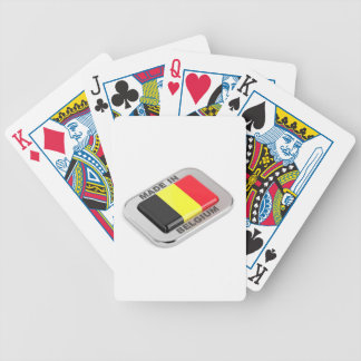 Made in Belgium Bicycle Playing Cards