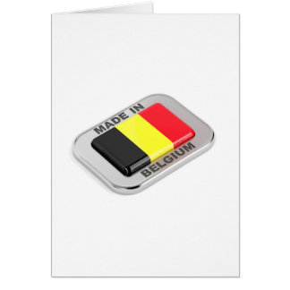 Made in Belgium Card