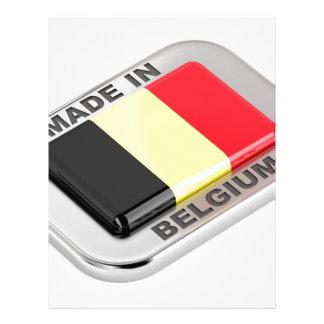 Made in Belgium Letterhead