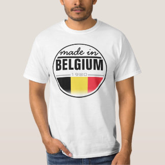 "Made in ...""Belgium"" T-Shirt"