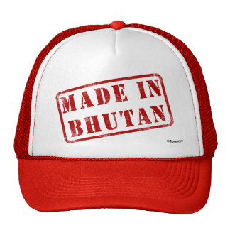 Made in Bhutan Hat