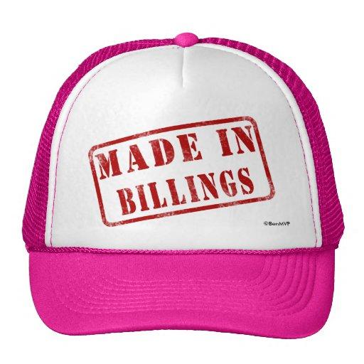 Made in Billings Trucker Hats