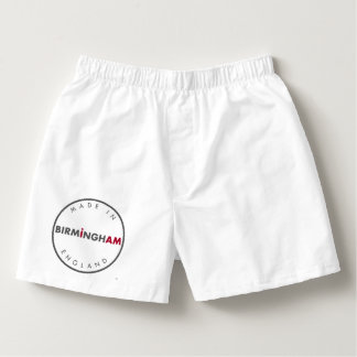 Made in Birmingham Boxers