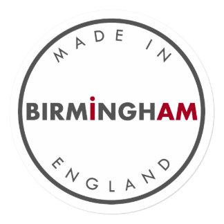 Made in Birmingham Invitation