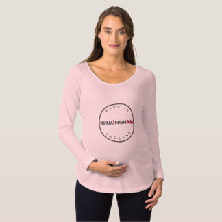 Made in Birmingham Maternity Long Sleeve Maternity T-Shirt