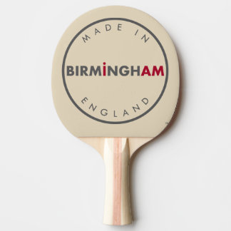 Made in Birmingham Ping Pong Paddle