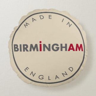 Made in Birmingham Round Pillow