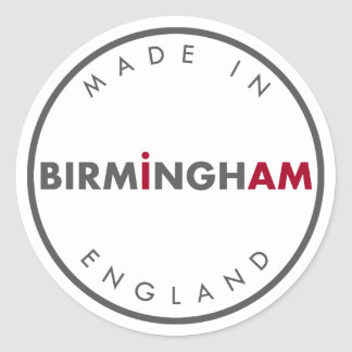 Made in Birmingham Stickers