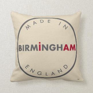 Made in Birmingham Throw Pillow
