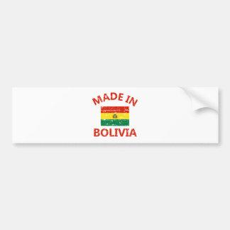 Made in Bolivia Bumper Sticker